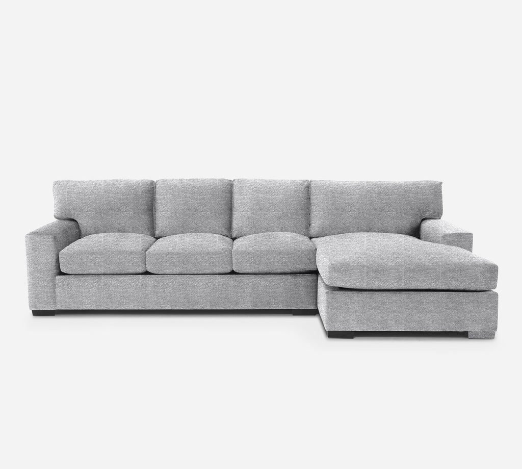 Kyle LAF Sectional Sofa w/ Chaise - Stardust - Domino