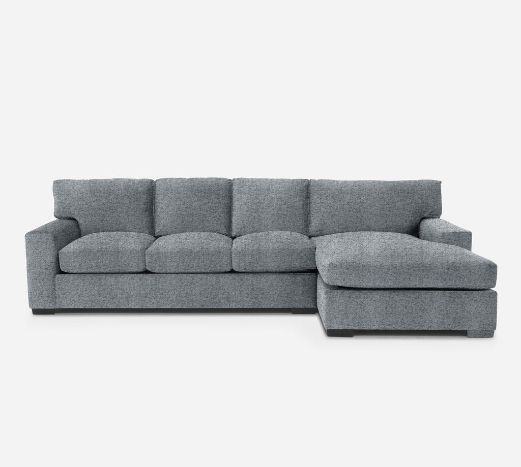 Kyle LAF Sectional Sofa w/ Chaise - Theron - Haze