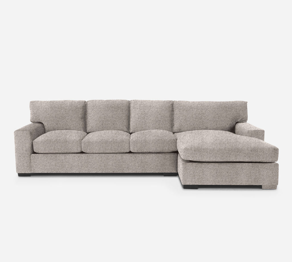Kyle LAF Sectional Sofa w/ Chaise - Theron - Oyster