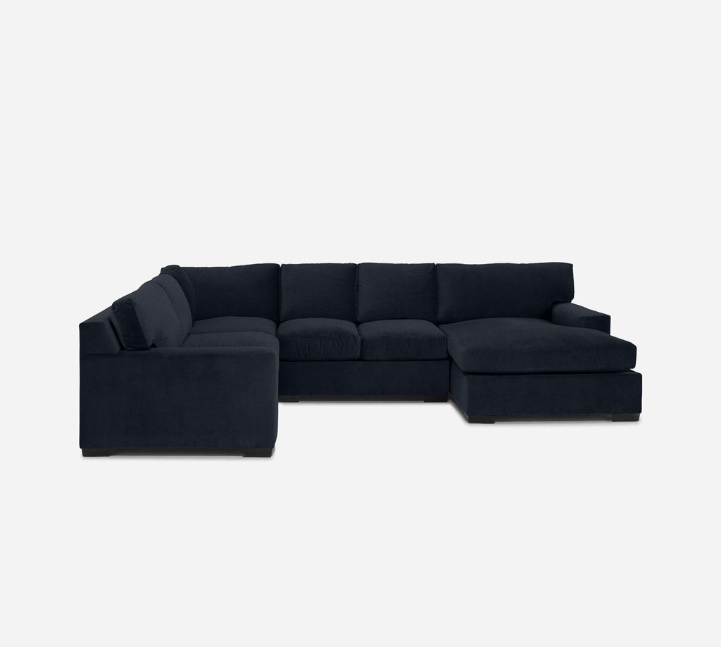 Kyle RAF Chaise Corner Sectional - Coastal - Sailor
