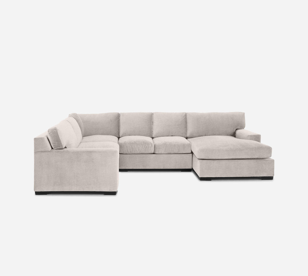 Kyle RAF Chaise Corner Sectional - Coastal - Sand
