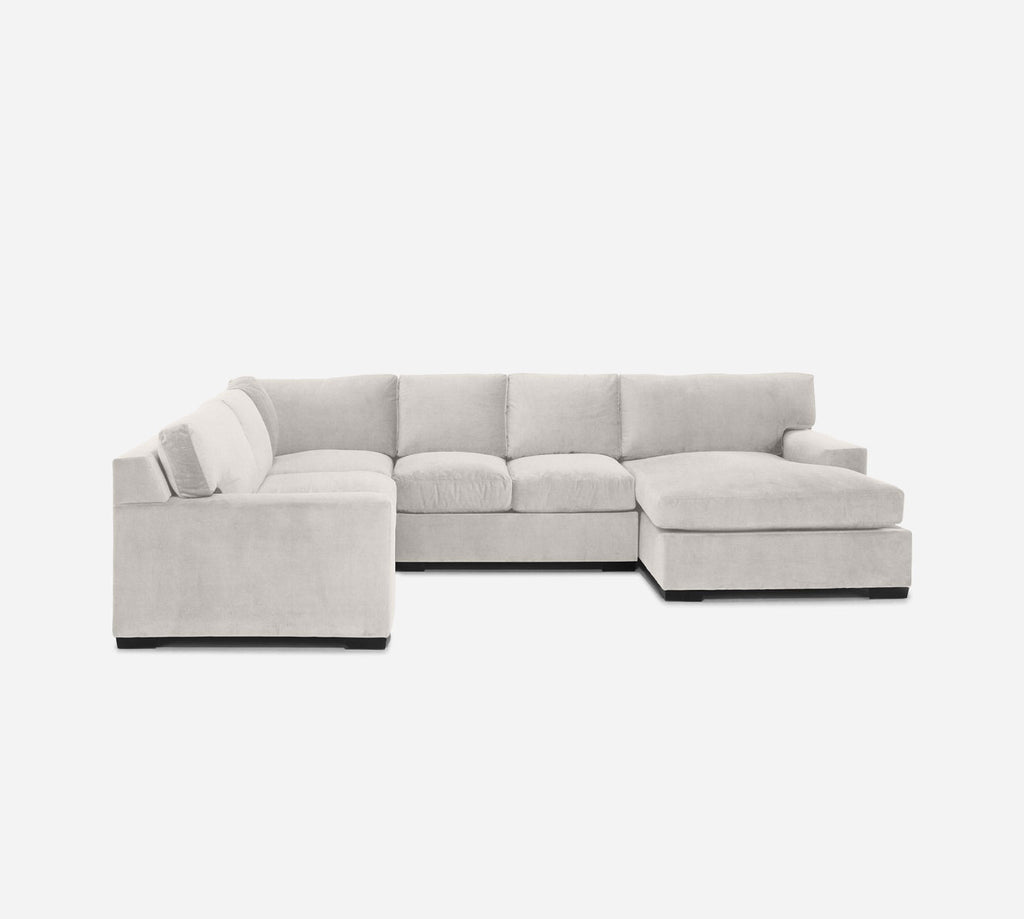 Kyle RAF Chaise Corner Sectional - Heritage - Ivory