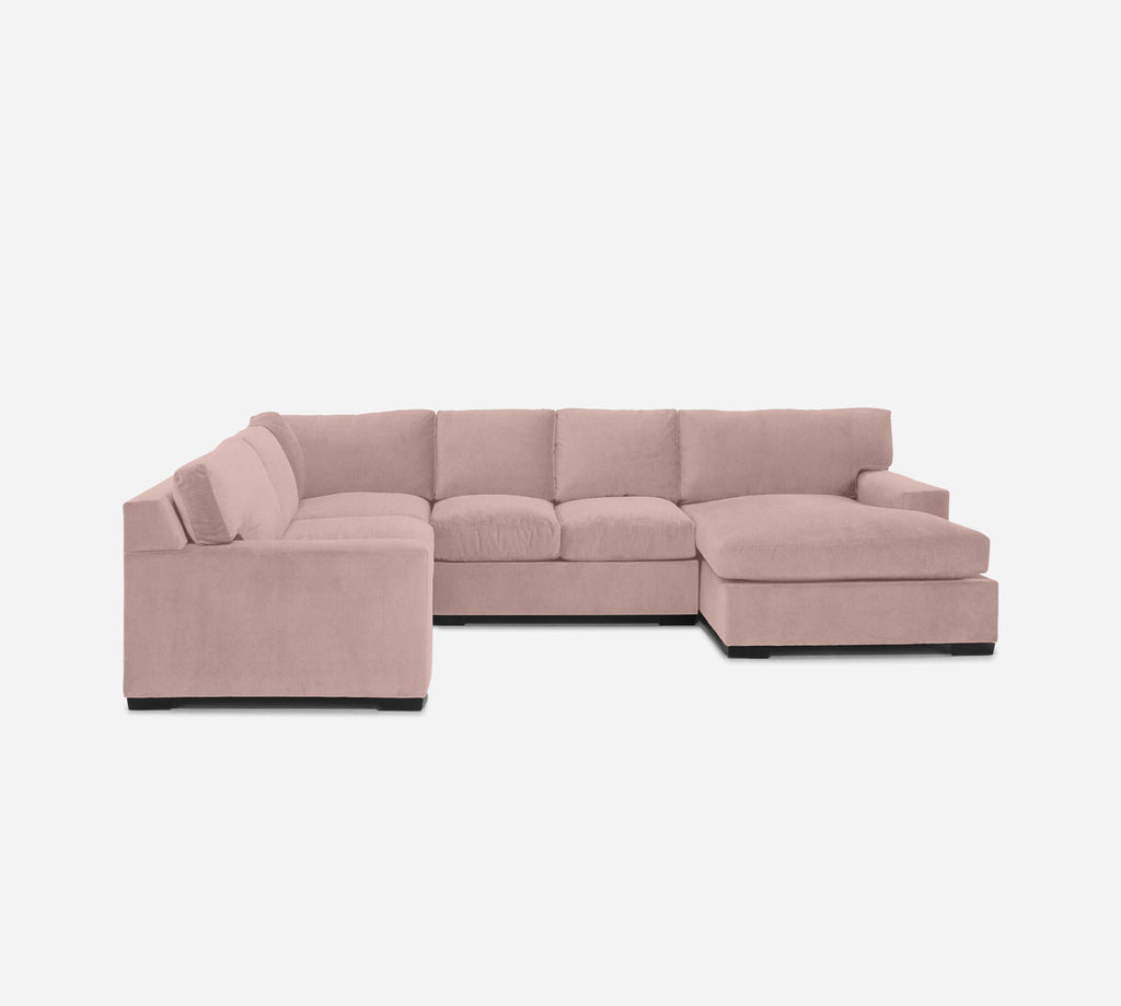 Kyle RAF Chaise Corner Sectional - Kenley - Quartz