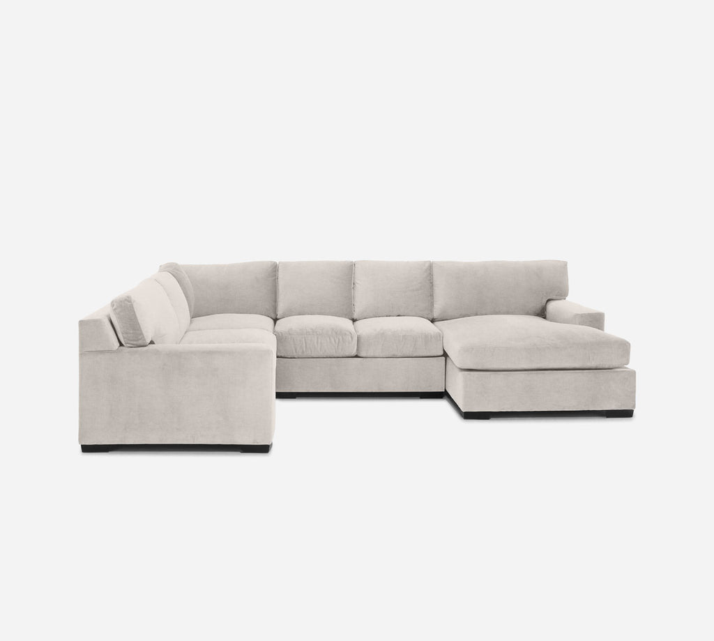 Kyle RAF Chaise Corner Sectional - Key Largo - Oatmeal