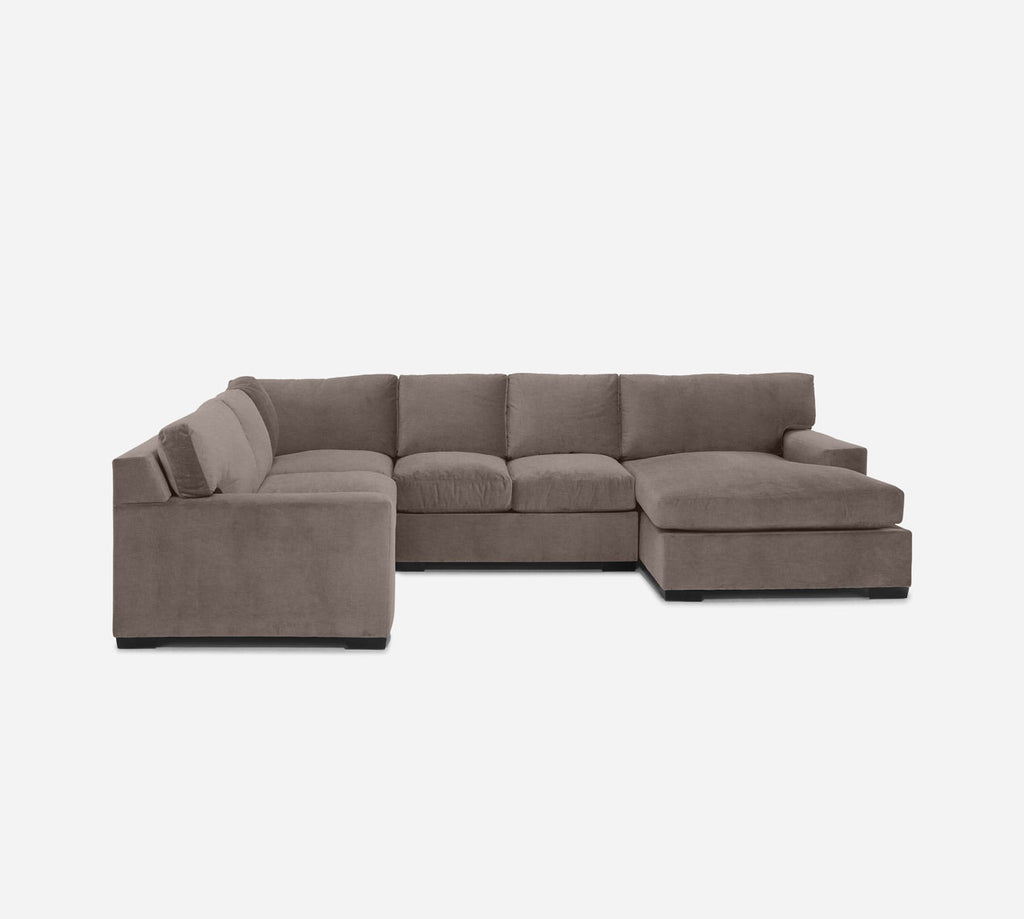 Kyle RAF Chaise Corner Sectional - Key Largo - Pumice