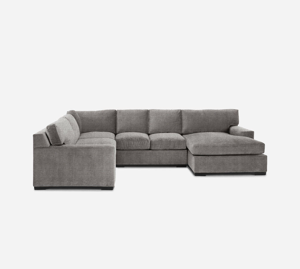 Kyle RAF Chaise Corner Sectional - Stardust - Fossil