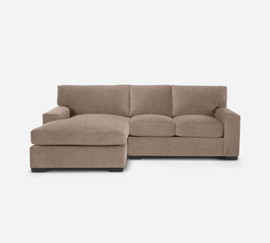 Kyle RAF Sectional Apt Sofa w/ Chaise - Coastal - Cashew