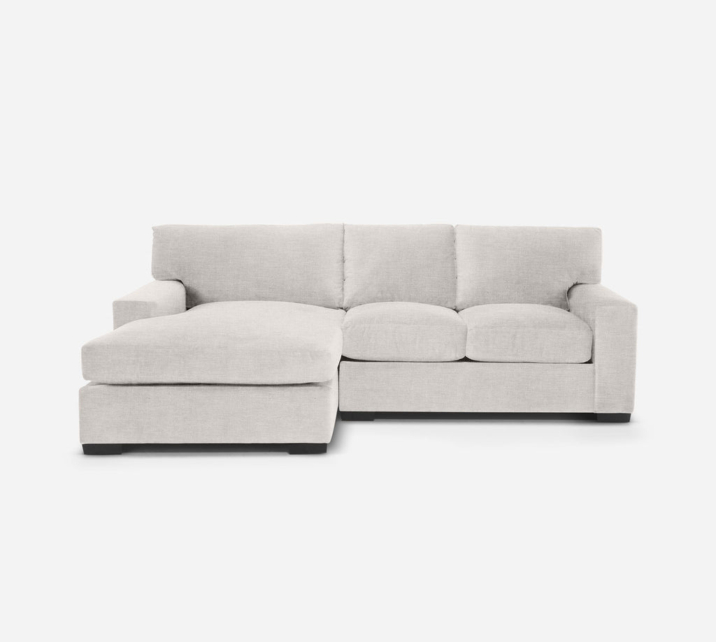 Kyle RAF Sectional Apt Sofa w/ Chaise - Key Largo - Oatmeal