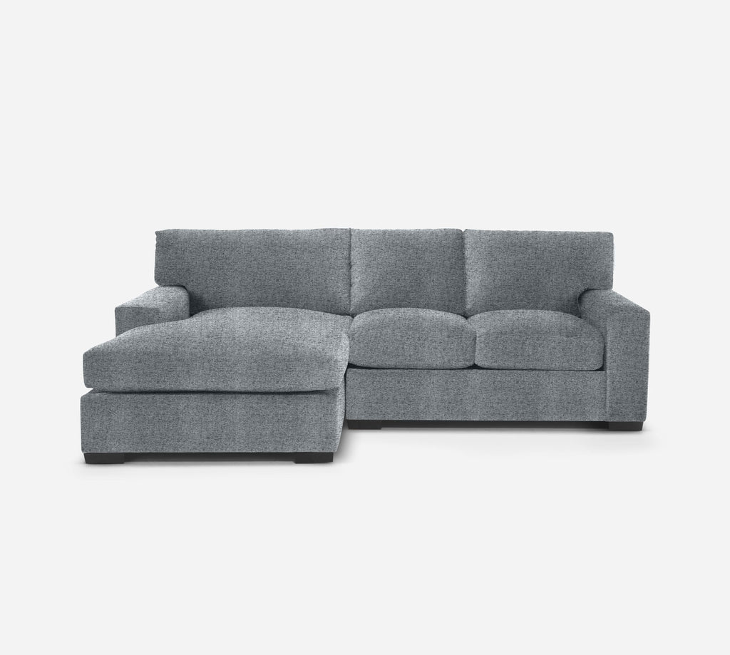 Kyle RAF Sectional Apt Sofa w/ Chaise - Theron - Haze