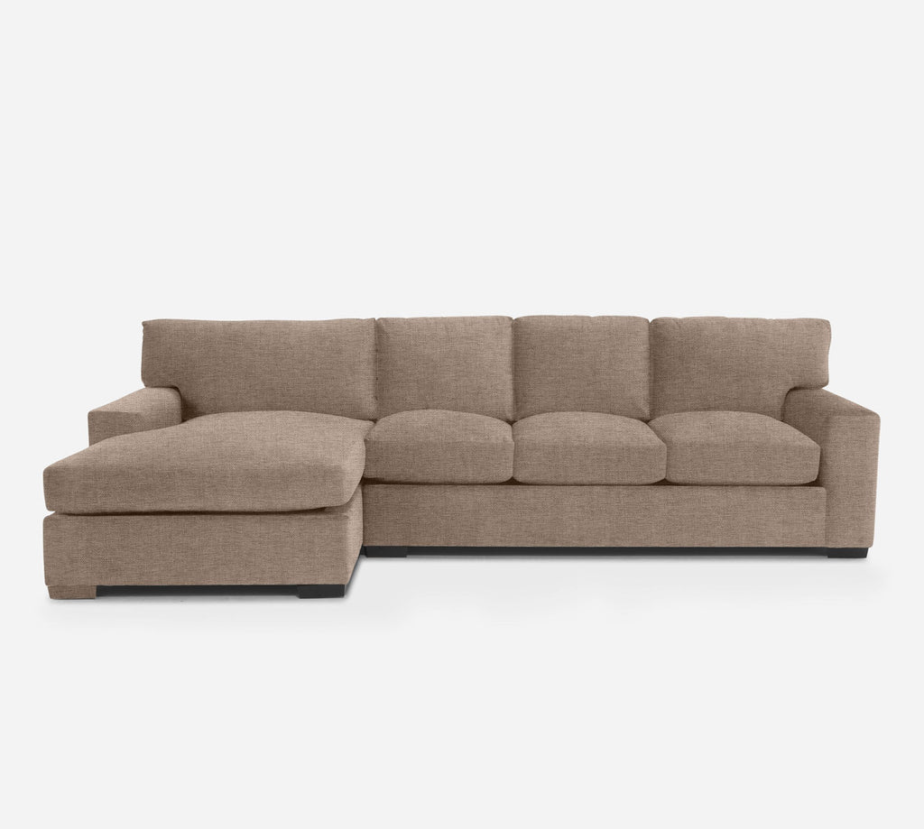 Kyle RAF Sectional Sofa w/ Chaise - Coastal - Cashew