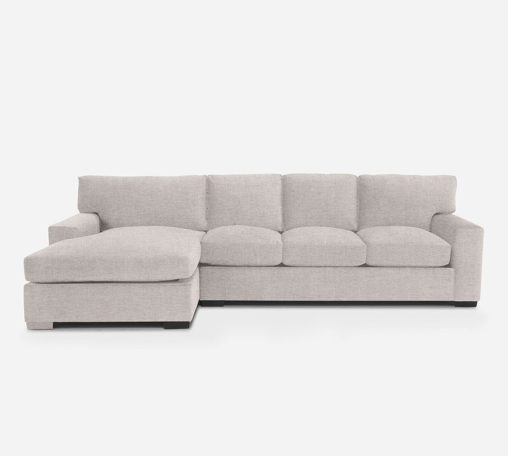 Kyle RAF Sectional Sofa w/ Chaise - Coastal - Sand