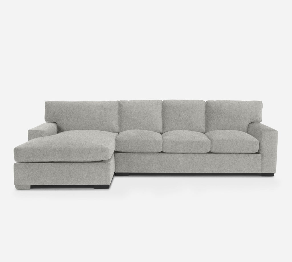 Kyle RAF Sectional Sofa w/ Chaise - Dawson - Oatmeal