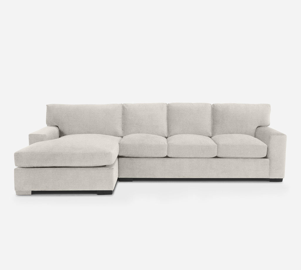Kyle RAF Sectional Sofa w/ Chaise - Heritage - Ivory