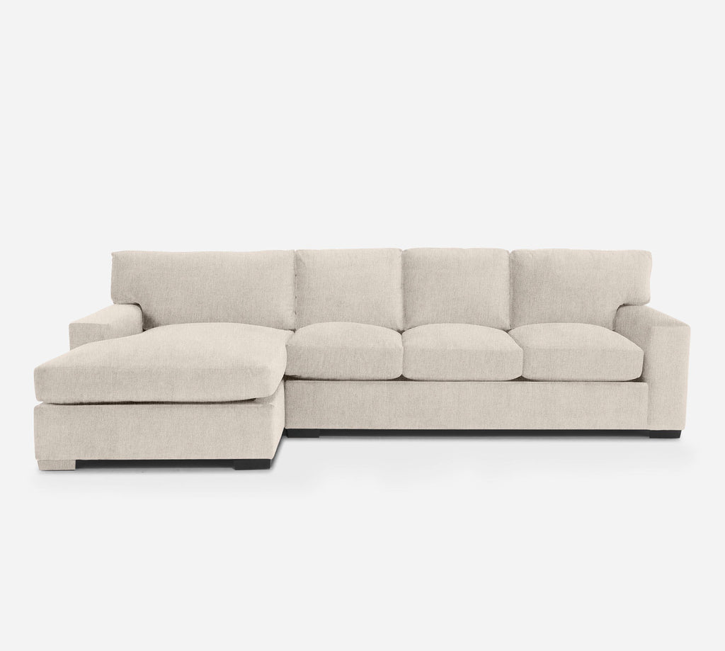Kyle RAF Sectional Sofa w/ Chaise - Kenley - Canvas