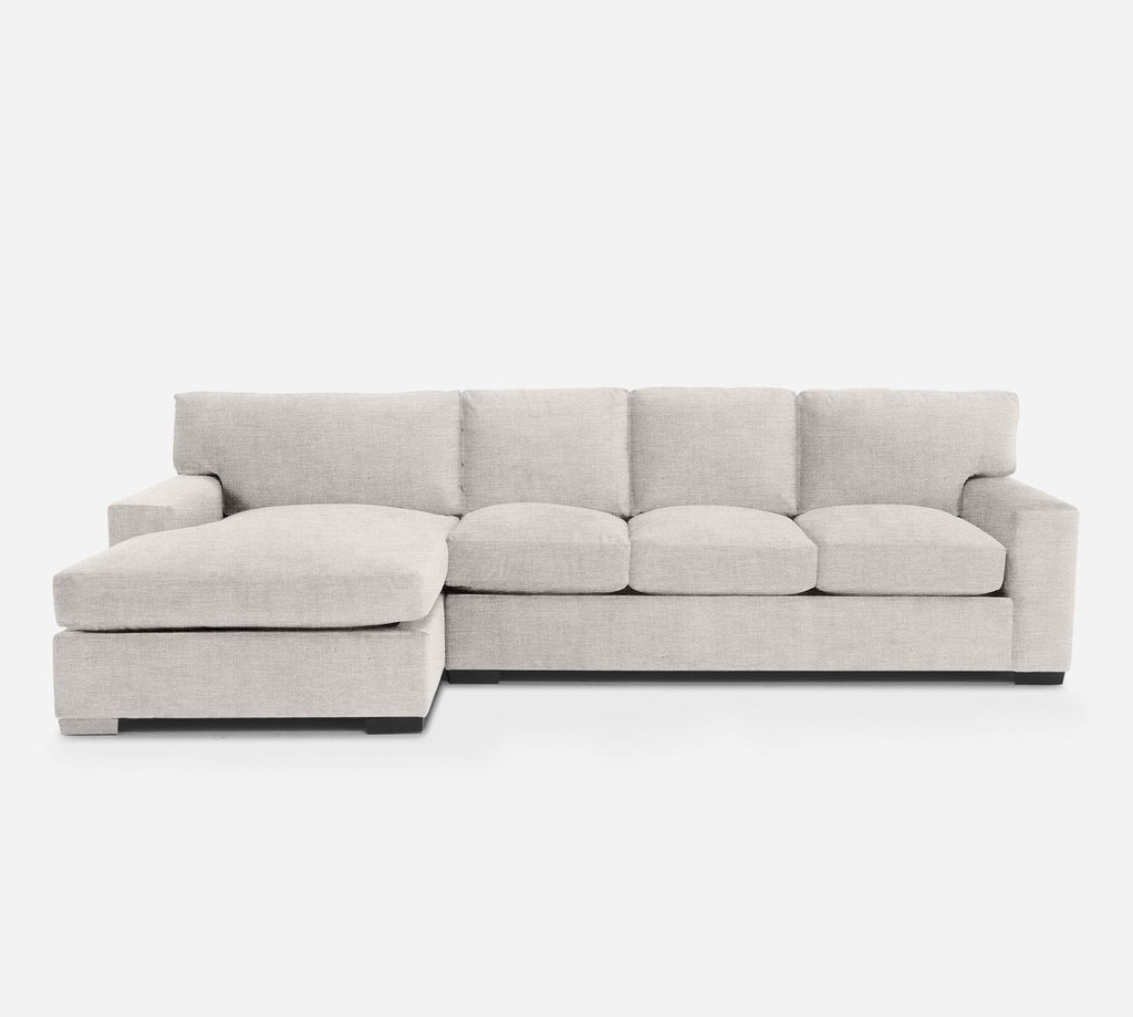 Kyle RAF Sectional Sofa w/ Chaise - Key Largo - Oatmeal