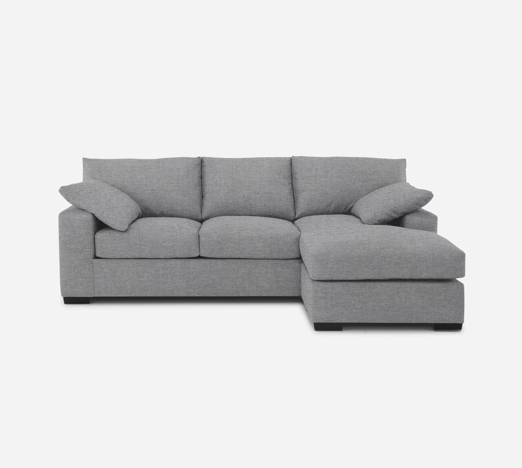 Kyle Sofa with Chaise- RHF - Coastal - Ash
