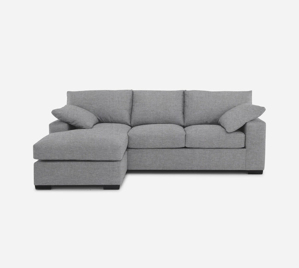 Kyle Sofa with Chaise- LHF - Coastal - Ash