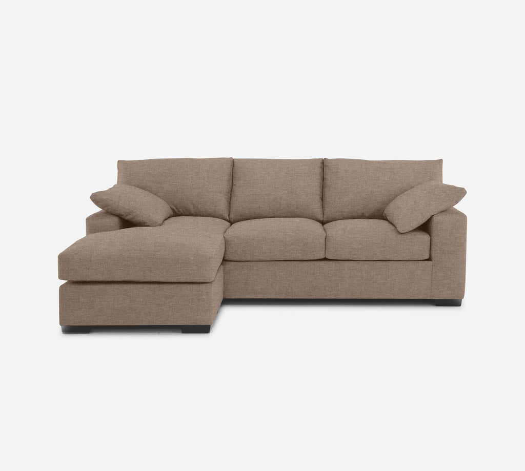 Kyle Sofa with Chaise- LHF - Coastal - Cashew
