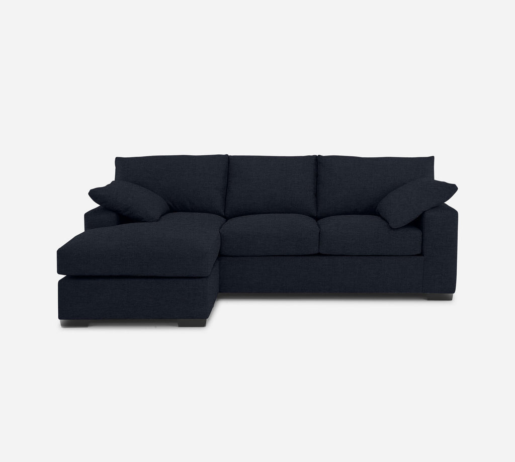Kyle Sofa with Chaise- LHF - Coastal - Sailor