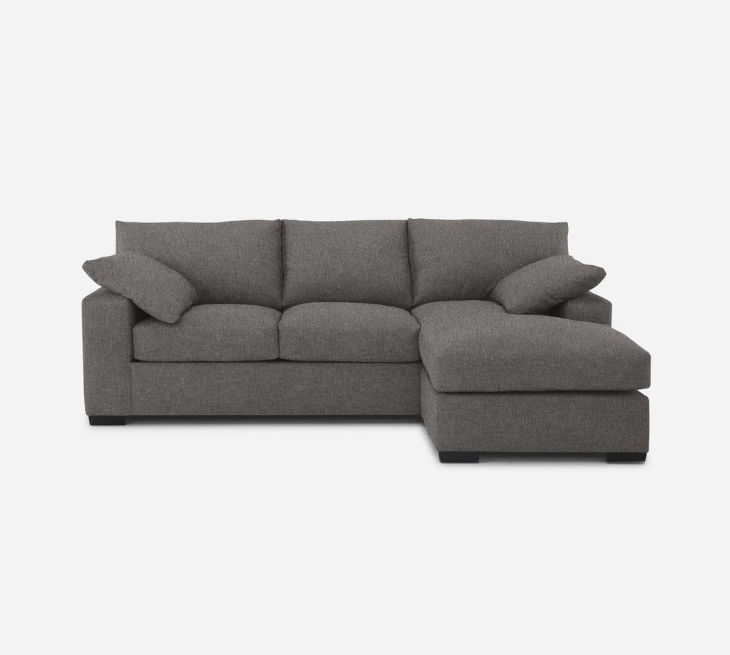 Kyle Sofa with Chaise- RHF - Dawson - Platinum