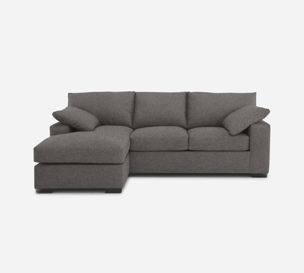 Kyle Sofa with Chaise- LHF - Dawson - Platinum