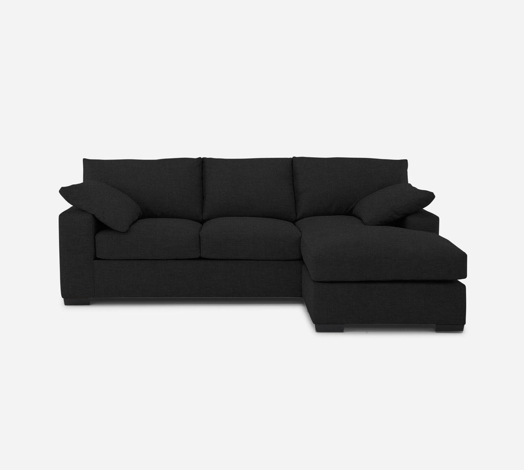 Kyle Sofa with Chaise- RHF - Heritage - Charcoal