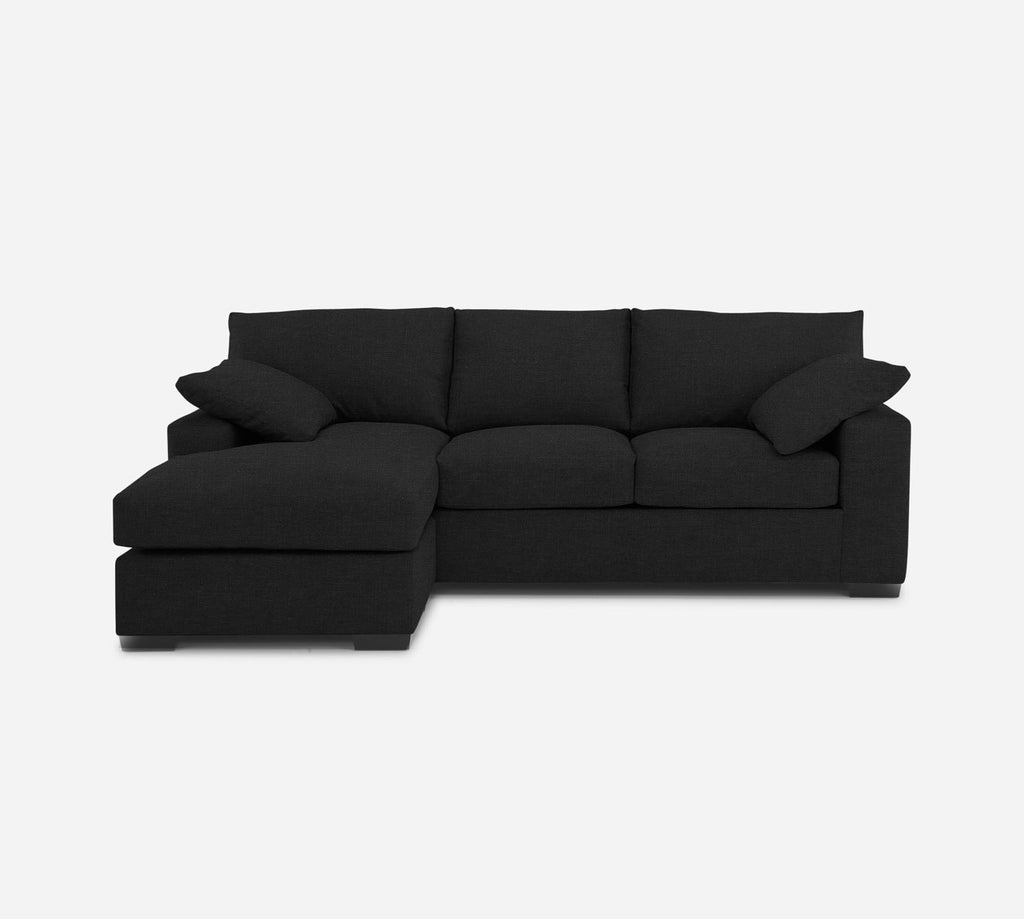 Kyle Sofa with Chaise- LHF - Heritage - Charcoal