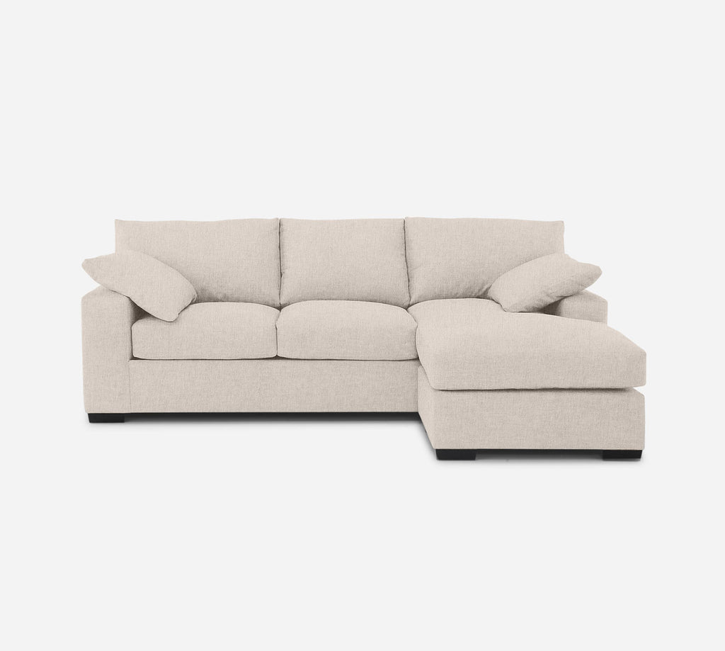 Kyle Sofa with Chaise- RHF - Kenley - Canvas