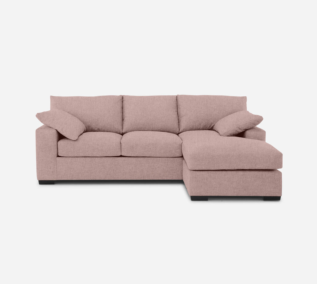Kyle Sofa with Chaise- RHF - Kenley - Quartz