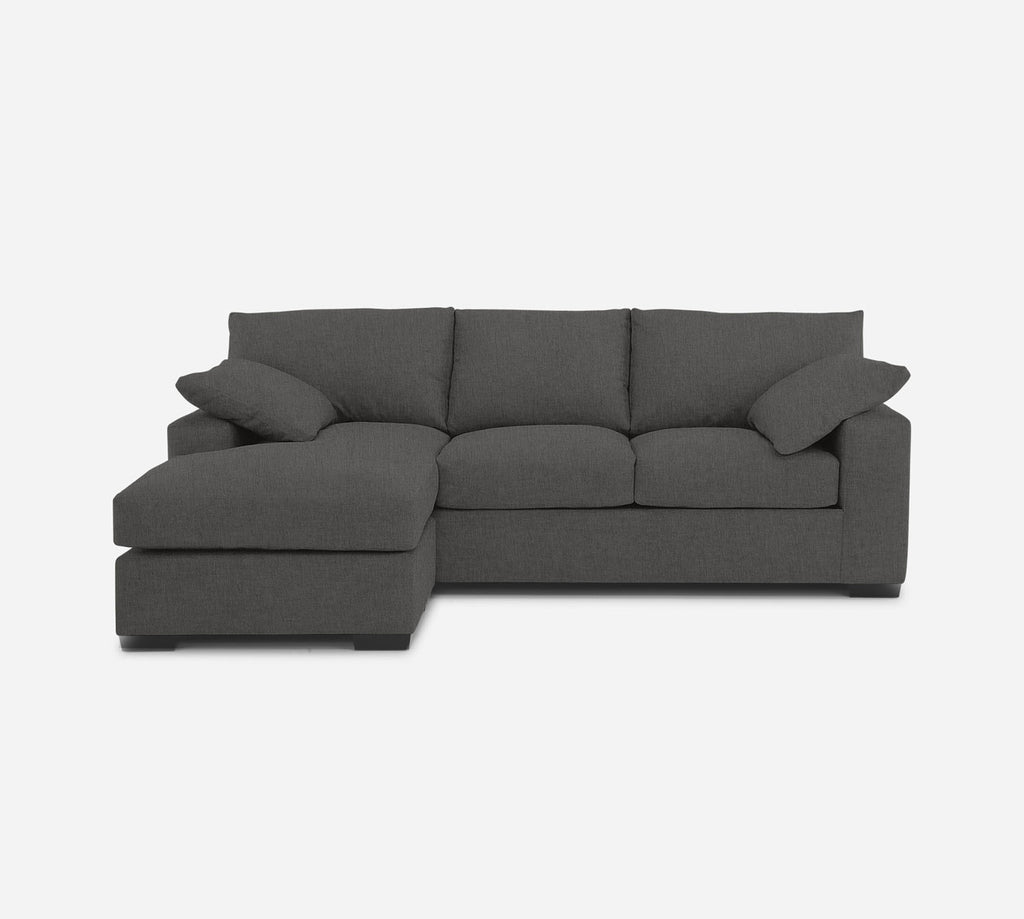Kyle Sofa with Chaise- LHF - Kenley - Silversage