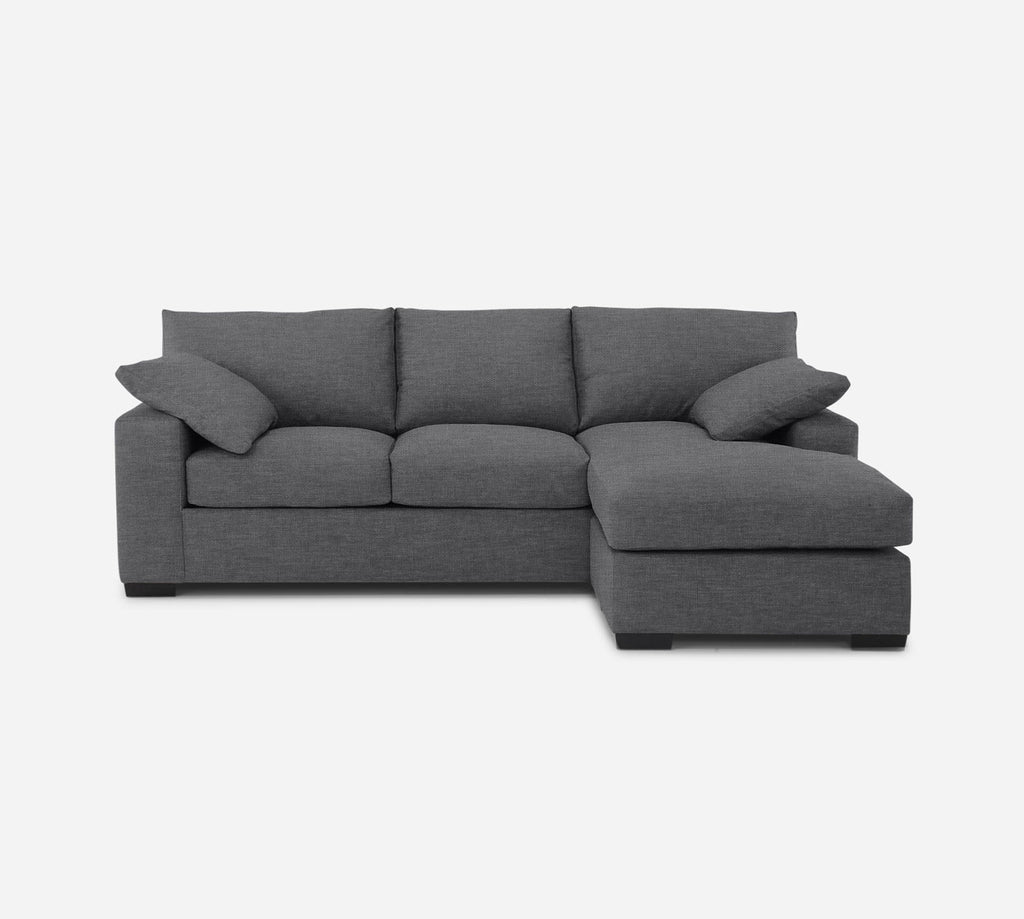 Kyle Sofa with Chaise- RHF - Key Largo - Ash