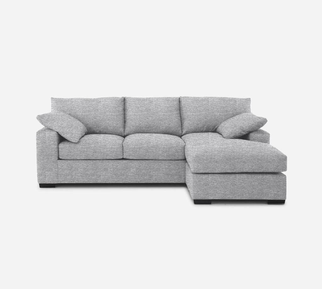 Kyle Sofa with Chaise- RHF - Stardust - Domino