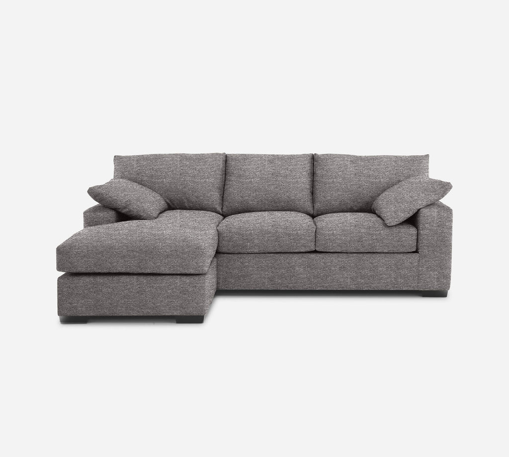 Kyle Sofa with Chaise- LHF - Stardust - Fossil
