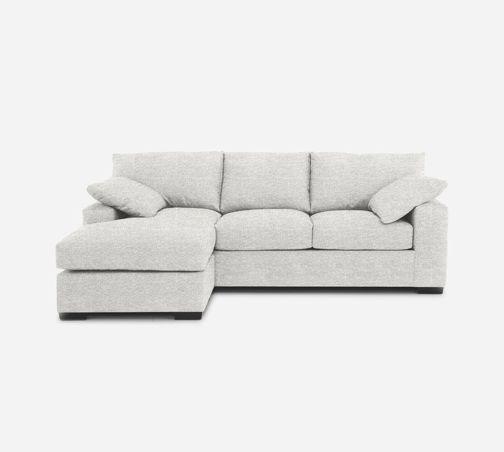 Kyle Sofa with Chaise- LHF - Stardust - Ivory