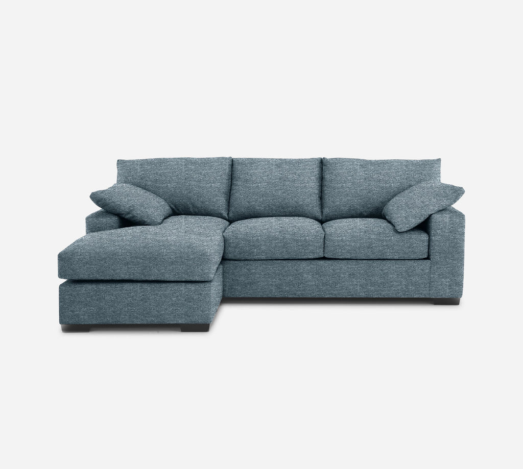 Kyle Sofa with Chaise- LHF - Stardust - Lapis