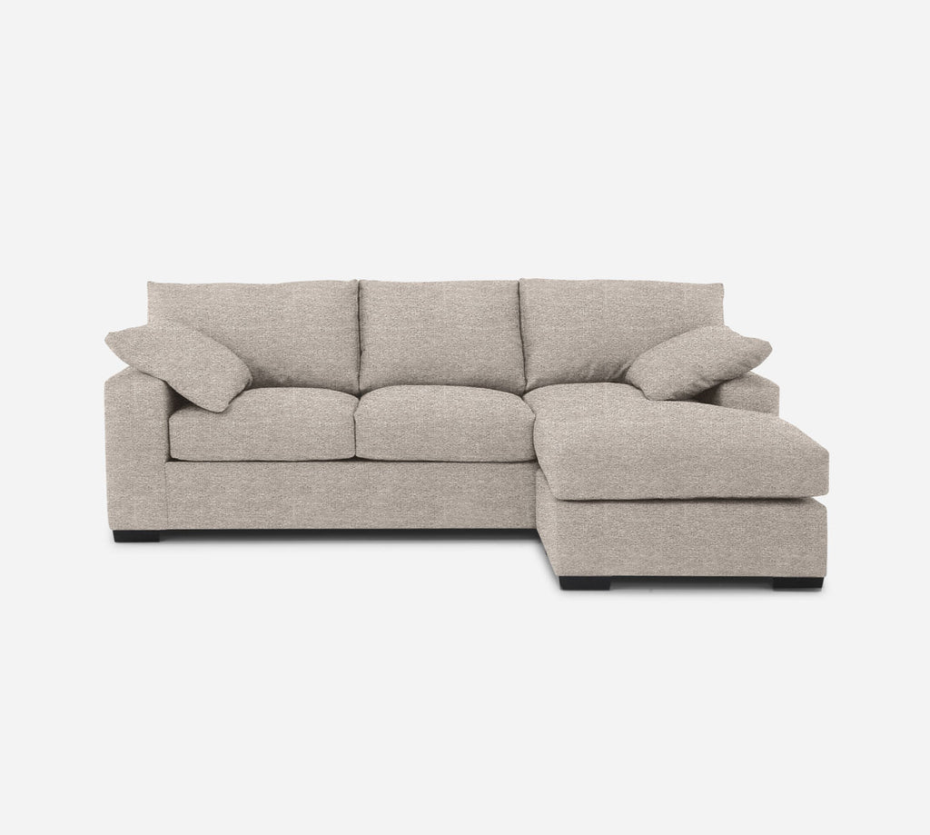 Kyle Sofa with Chaise- RHF - Stardust - Oatmeal