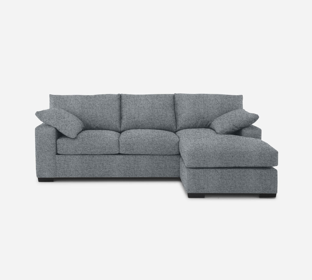 Kyle Sofa with Chaise- RHF - Theron - Haze