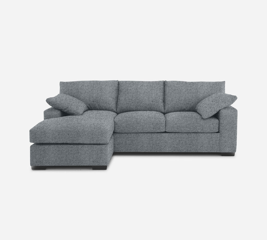 Kyle Sofa with Chaise- LHF - Theron - Haze