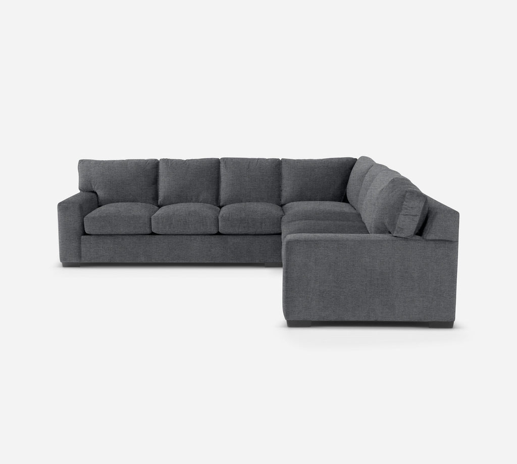 Kyle Large Corner Sectional - Coastal - Steel