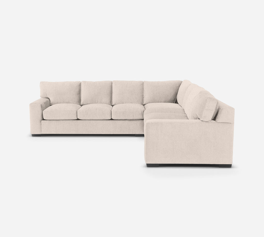 Kyle Large Corner Sectional - Kenley - Canvas
