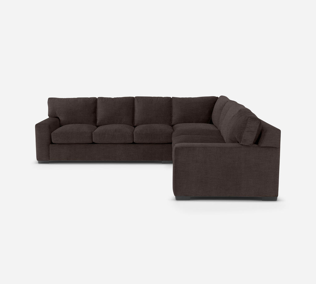 Kyle Large Corner Sectional - Key Largo - Mocha