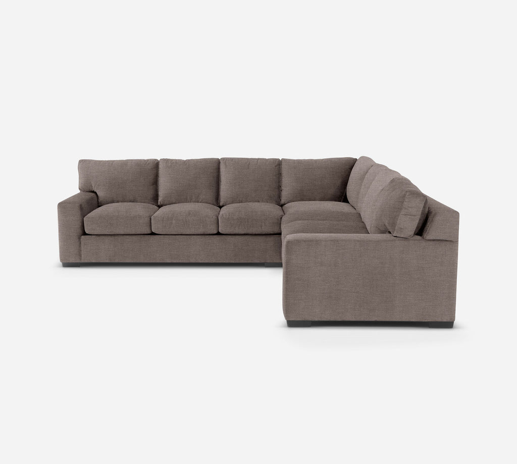 Kyle Large Corner Sectional - Key Largo - Pumice