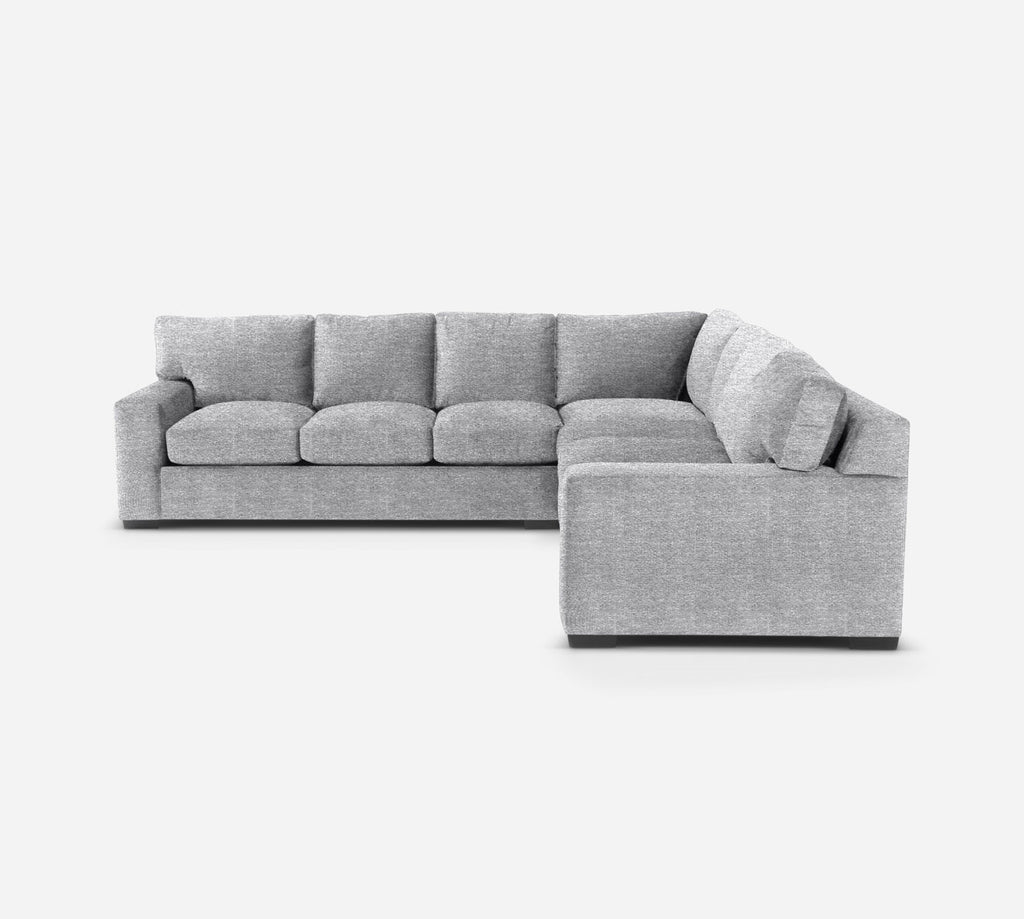 Kyle Large Corner Sectional - Stardust - Domino