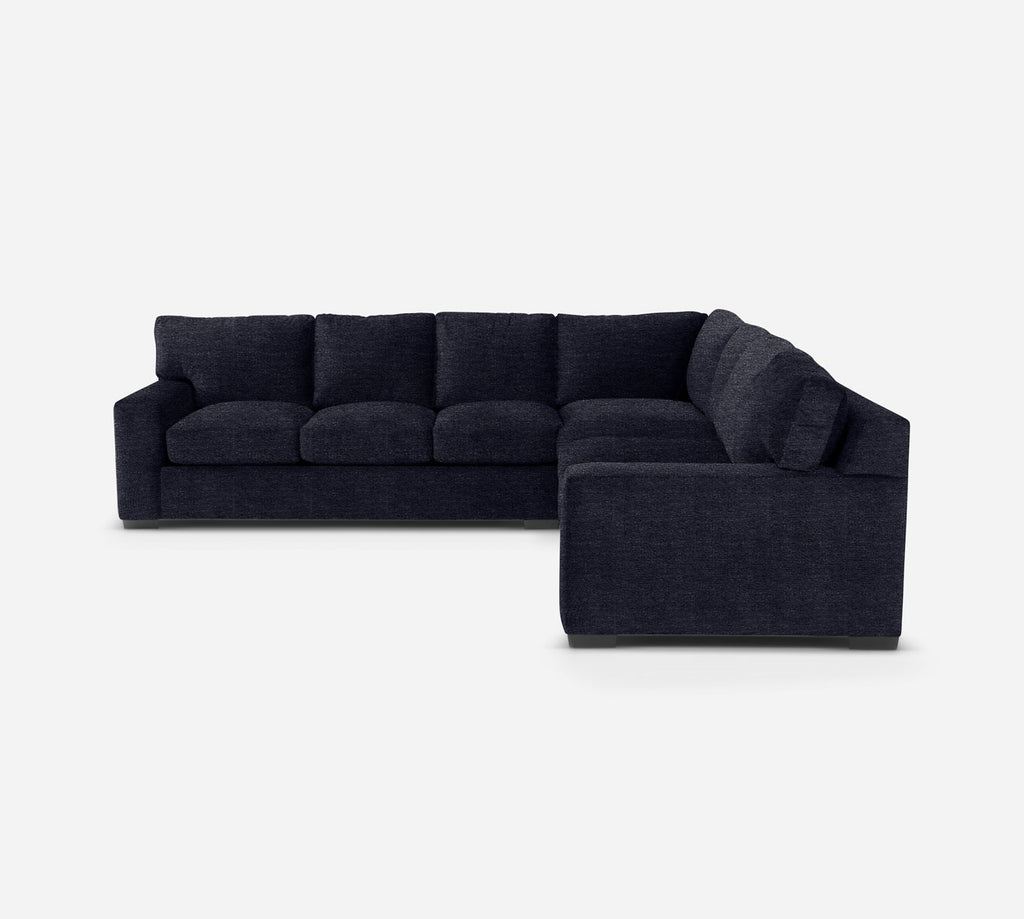 Kyle Large Corner Sectional - Stardust - Midnight