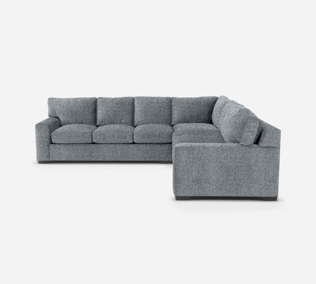 Kyle Large Corner Sectional - Theron - Haze