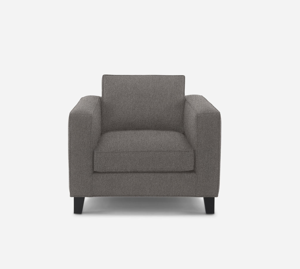 Remy Chair - Dawson - Platinum