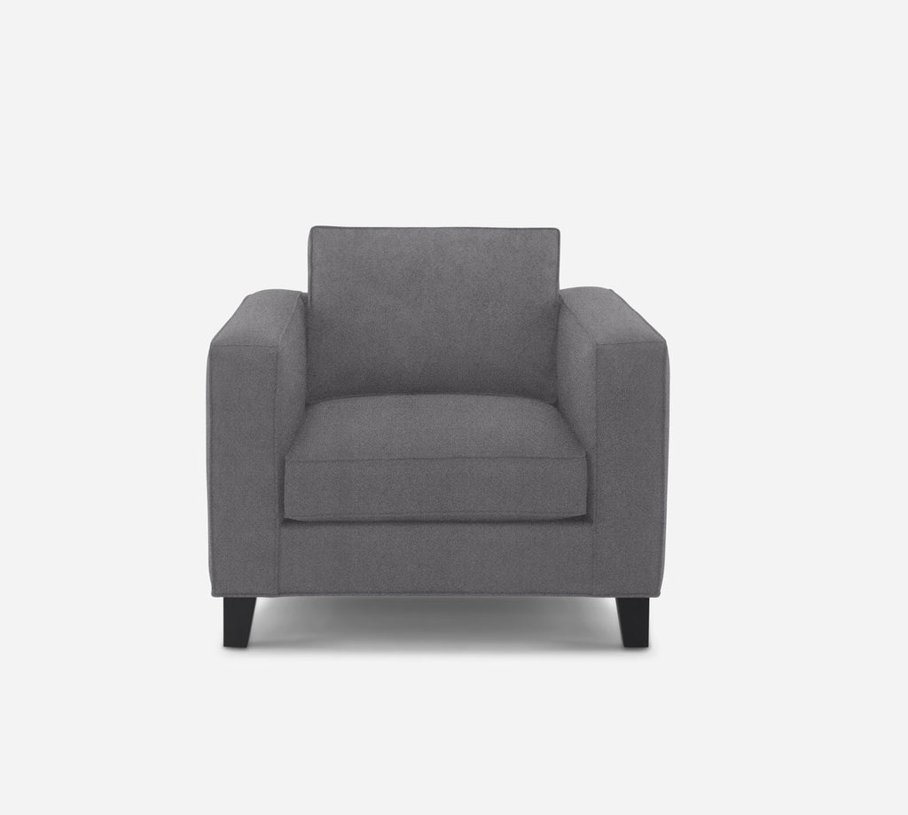 Remy Chair - Passion Suede - Charcoal