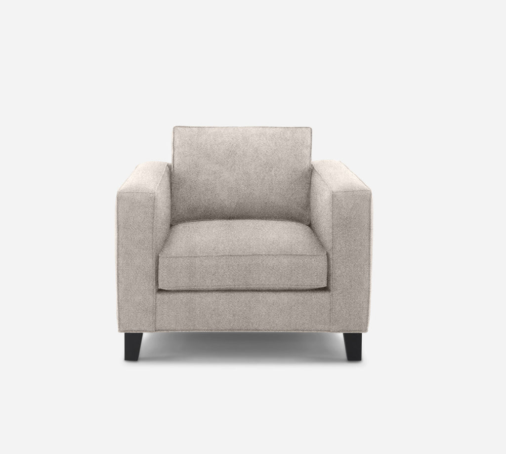 Remy Chair - Passion Suede - Oyster