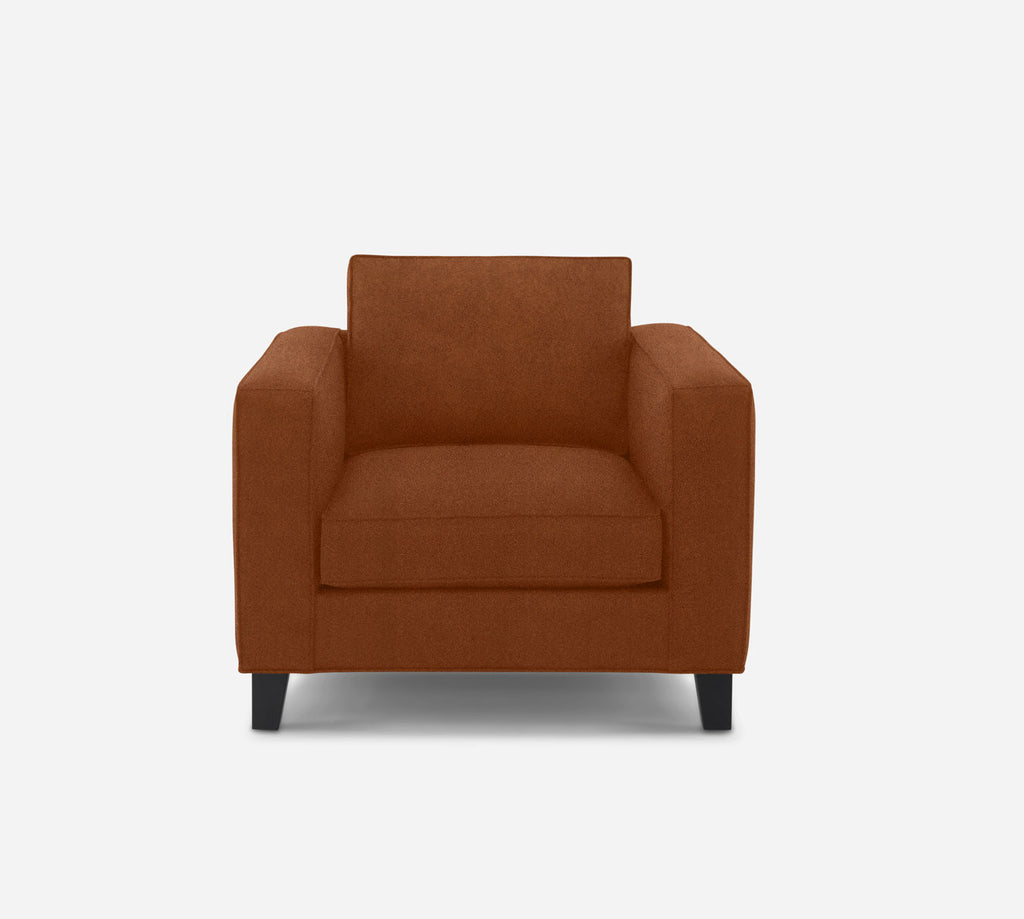 Remy Chair - Passion Suede - Rust