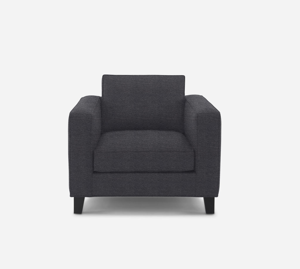 Remy Chair - Stardust - Charcoal